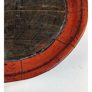 19th Century Chinese Wood Dome Display Tray Preview