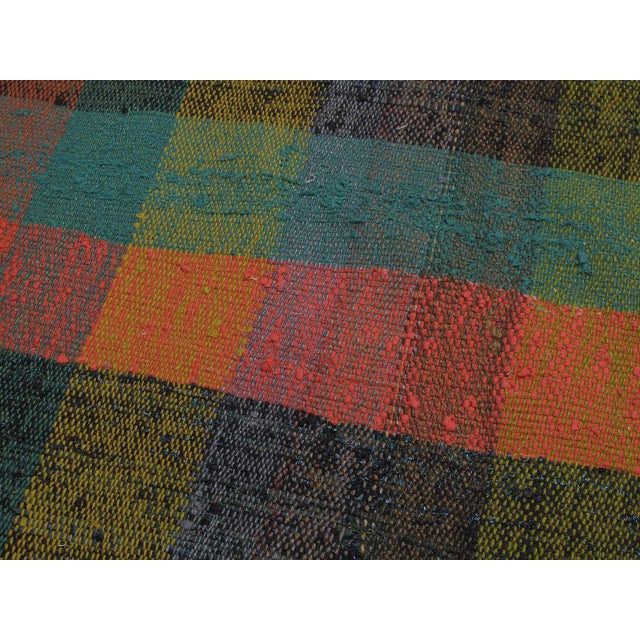 1980s Pala Kilim Runner For Sale - Image 5 of 7