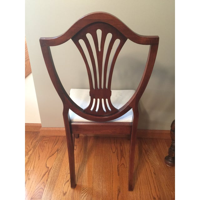 Early 20th Century Hepplewhite Chair For Sale - Image 9 of 11