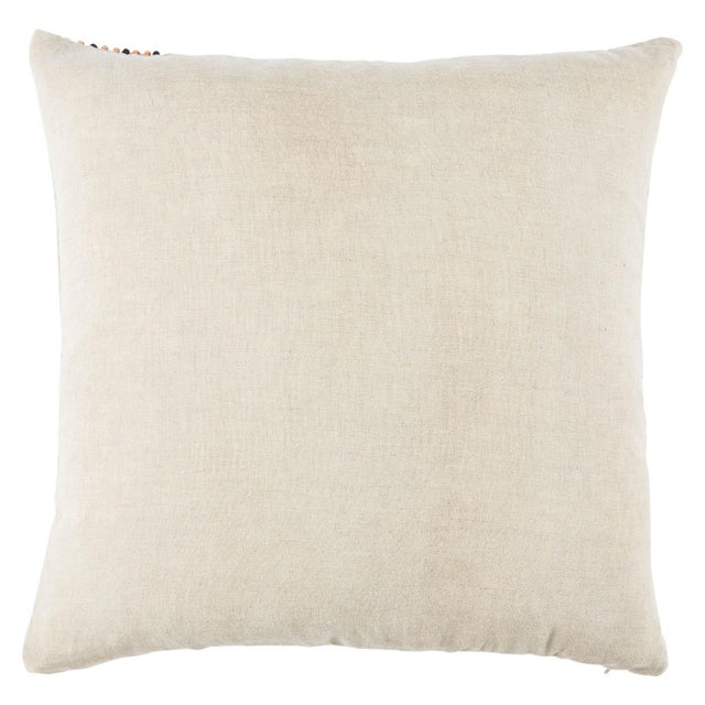 A boho play on the classic stripe, the graphic style of this Nikki Chu pillow captures the attention in modern spaces....