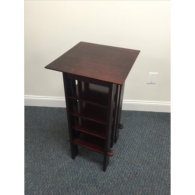 Michigan Chair Company Magazine Stand Side Table - Image 2 of 9