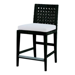 Century Furniture Litchfield Counter Stool, Mink Grey For Sale