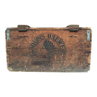 Iroquois Brewery Crate For Sale