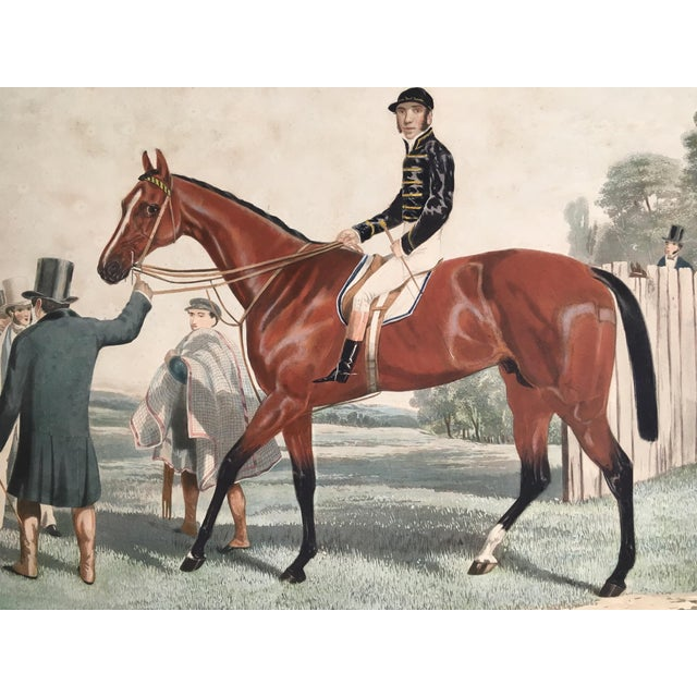 English Horse Racing Print, C1853 For Sale - Image 4 of 13
