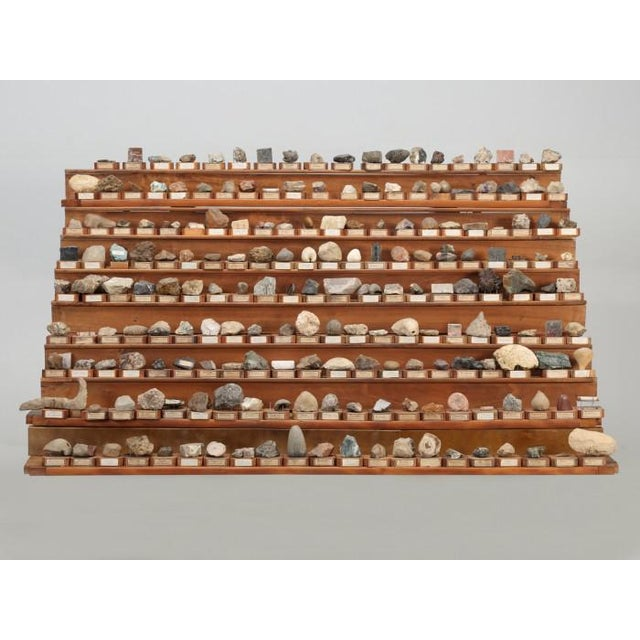 1891 French School Mineral Specimen Collection - 200 Pc. Set For Sale - Image 13 of 13