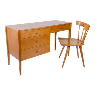 Paul McCobb Planner Group Desk & Chair for Winchendon