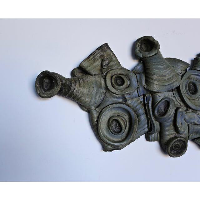 Tim Keenan Ceramic Wall Sculpture For Sale - Image 4 of 7