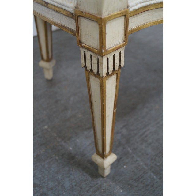 Widdicomb Paint Frame Regency Style Arm Chairs - A Pair - Image 9 of 10