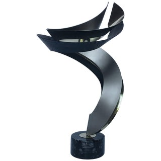 Curtis Jere Modern Abstract Table Sculpture For Sale