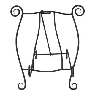 Iron Scroll Cookbook Holder For Sale