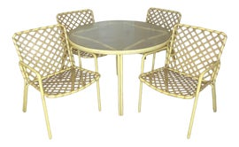 Image of Yellow Outdoor Tables