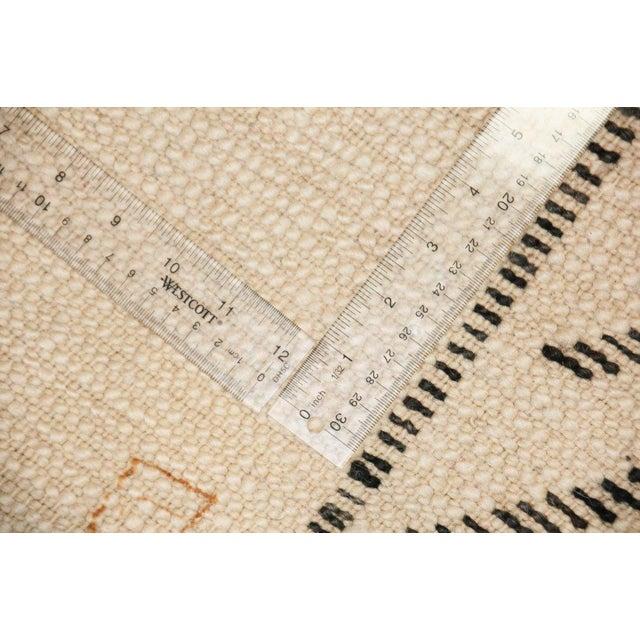 Vintage Beni Ourain Carpet - 5′9″ × 9′ - Image 6 of 6