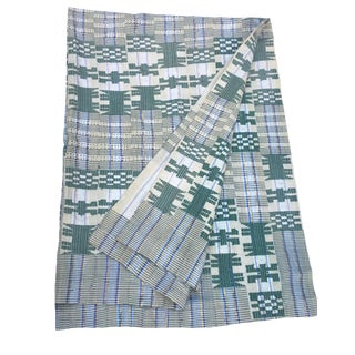 African Aso Oke Textile - Nigerian Wrapper For Sale
