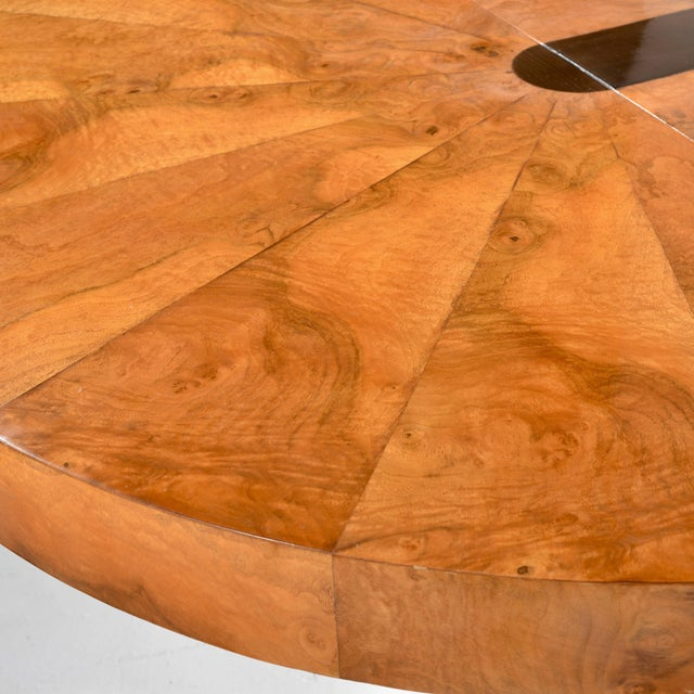 Paul Evans Burl Wood Cityscape Dining Table For Sale - Image 10 of 11