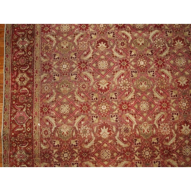 Antique Indian Amritsar Rug - 7′ × 9′8″ - Image 2 of 5