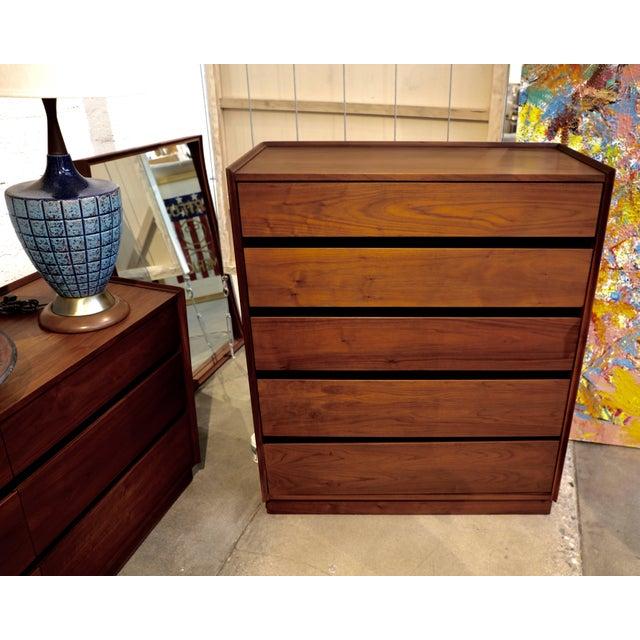 Dillingham Walnut Dresser For Sale - Image 10 of 10