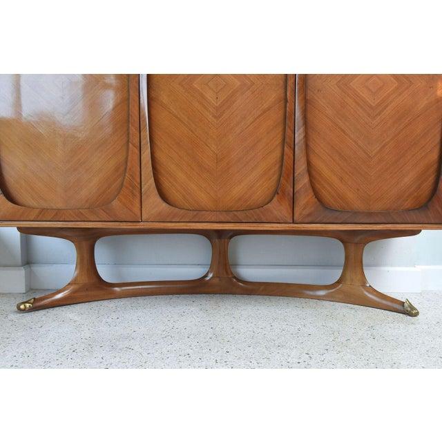 Fine Italian Three-Door Credenza, Dassi For Sale - Image 4 of 9