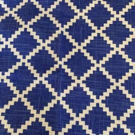 Image of Blue Fabrics