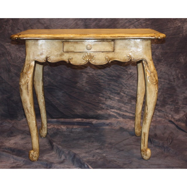 Wood William Switzer Writing Table For Sale - Image 7 of 7