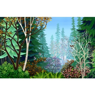"""""""Here and Now"""" Contemporary Landscape Giclee Reproduction Print by Wynn Yarrow For Sale"""