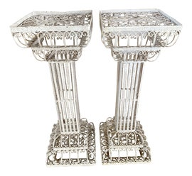 Image of Hollywood Regency Plant Stands