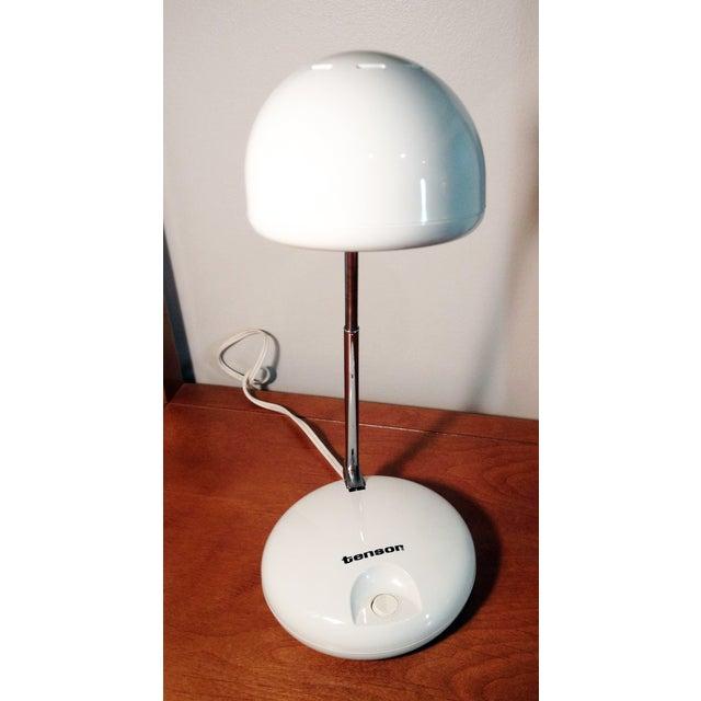 Tensor Moder 650 White Eyeball Lamp For Sale - Image 4 of 5