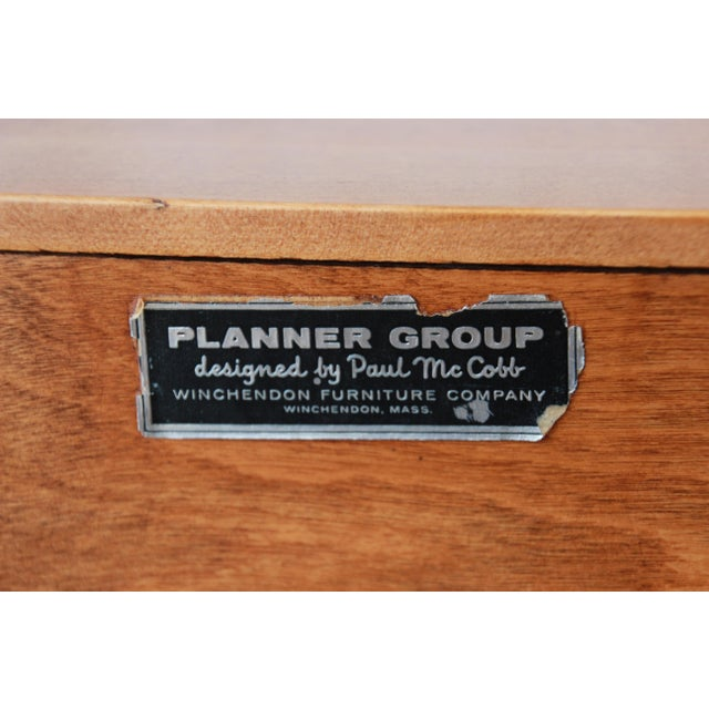 Paul McCobb Planner Group Credenza or Record Cabinet For Sale - Image 11 of 12