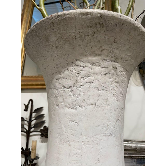Contemporary Tall Cream Urn With Spout For Sale - Image 3 of 9