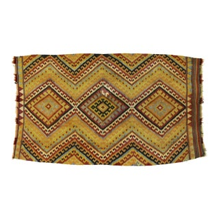 "Turkish Kilim Rug, 3'4"" X 2' For Sale"