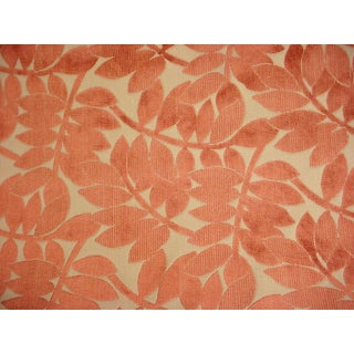 Groundworks Lee Jofa Botnaico Velvet Spice Upholstery Fabric - 2.75 Yards For Sale