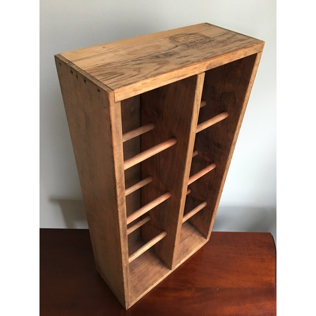 Boho Chic 20th Century Country Napa Valley Wooden Wine Crate For Sale - Image 3 of 8
