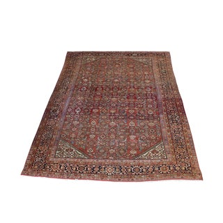 Vintage Early 20th Century All Over Design Mahal Rug- 11′2″ × 8′3″ For Sale