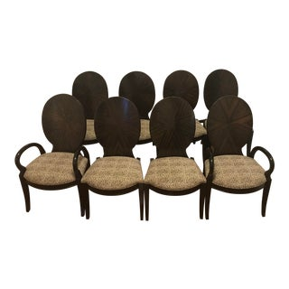 Century Furniture Company Omni Dining Chairs - Set of 8 For Sale