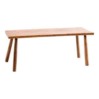 Primitive Pine Peg Leg Table