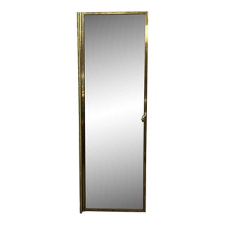 Salvaged Brass Shower Door For Sale