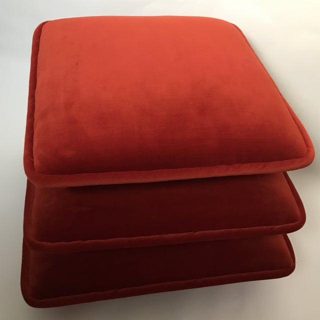 Final Markdown Stacked Cushion Ottoman For Sale - Image 4 of 9