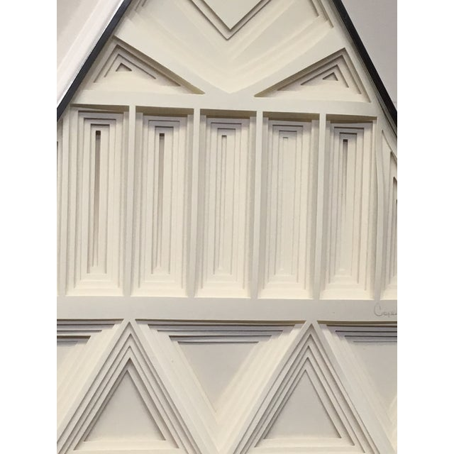 Greg Copeland 1970s Vintage Greg Copeland Paper Wall Art Sculptures - a Pair For Sale - Image 4 of 11