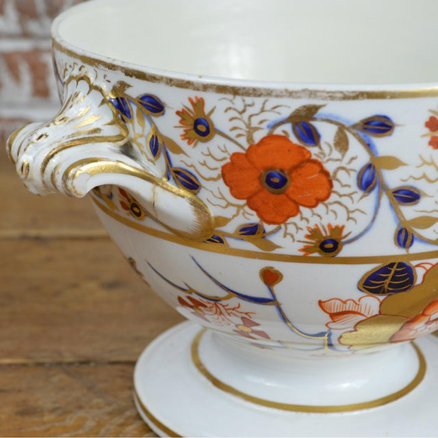 19th Century Crown Derby Old Japan Footed Bowl - Image 8 of 10