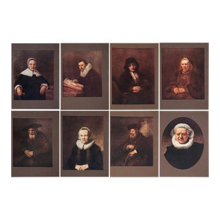 Rembrandt Lithographs by M. Menpes - Set of 8