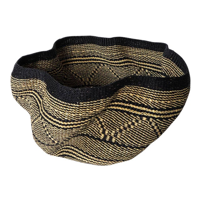 African Basket IV For Sale