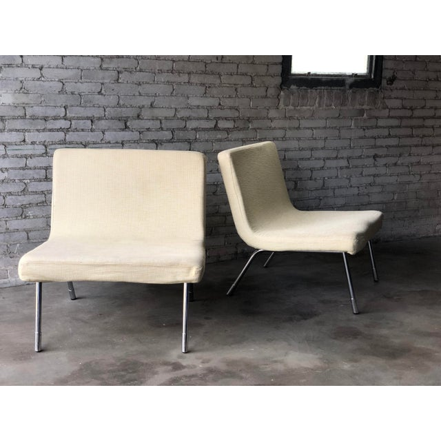 1990s Roche Bobois Chrome Lounge Chairs - a Pair For Sale In Boston - Image 6 of 13
