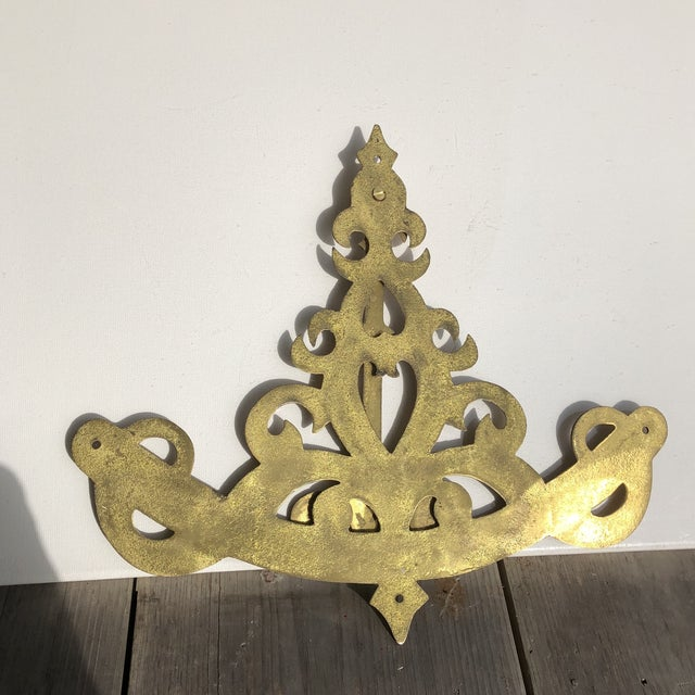 Nautical Brass Decorative Wall Sconce/Bracket for Ship/Boat/Home/Office For Sale In Pittsburgh - Image 6 of 7