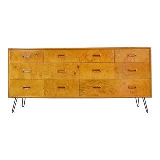 Vintage Burlwood Dresser by Henredon