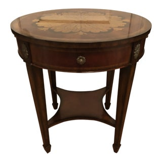 Maitland Smith Aged Regency End Table For Sale