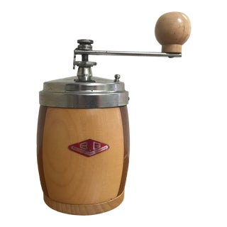 1960s Mid Century Modern Coffee Grinder Made in Italy For Sale