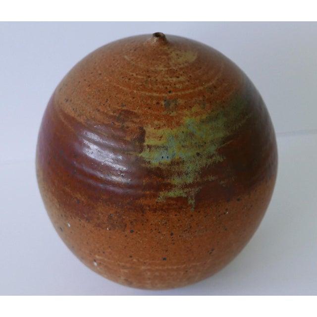 Ceramic 1973 Mid-Century Studio Pottery Vase For Sale - Image 7 of 7