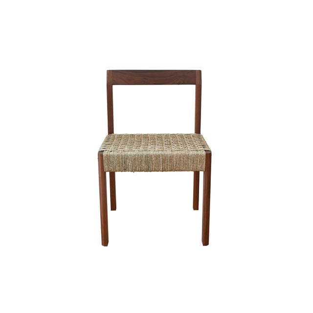 Contemporary Modern Casey McCafferty Faceted Dining Chair For Sale - Image 3 of 5