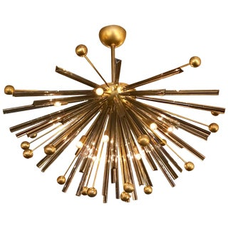 Autunno Sputnik Chandelier or Flush Mount by Fabio Ltd For Sale