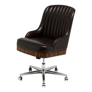 Scarborough House Brown Italian Office Chair For Sale