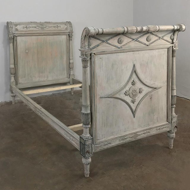 19th Century Painted Directoire Day Bed For Sale - Image 13 of 13